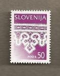 Sellos del Mundo : Europa : Eslovenia : Bordado