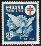 Sellos de Europa - España -  pro-Tuberculosis 1950