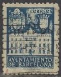 Sellos de Europa - España -  1942_34_Barcelona_Fachada