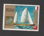 Sellos de Africa - Guinea Ecuatorial -  Regata transatlantica