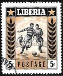 Sellos del Mundo : Africa : Liberia : Fútbol