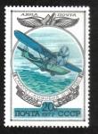 Sellos de Europa - Rusia -  Historia de los aviones rusos