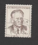 Sellos del Mundo : Europa : Checoslovaquia : Presidente Antonin Novotny