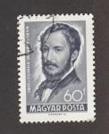 Sellos del Mundo : Europa : Hungría : I Centenario muerte del poeta Mihaly Tompa