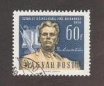 Sellos del Mundo : Europa : Hungría : Exposición filatélica  Soviética en Budapest