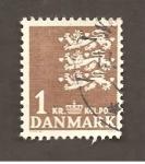 Sellos de Europa - Dinamarca -  INTERCAMBIO