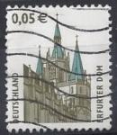 Sellos de Europa - Alemania -  2004 - Catedral d'Erfurt
