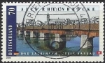 Sellos del Mundo : Europa : Alemania : 2008 - Alte Rheinbrücke