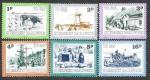 Sellos de Europa - Reino Unido -  J30-J35 Vistas de Guernsey (I Parte)