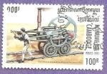 Sellos de Asia - Camboya -  1446
