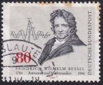 Sellos del Mundo : Europa : Alemania : Friedrich Wilhelm Bessel