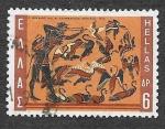 Sellos de Europa - Grecia -  981 - Trabajo de Hércules