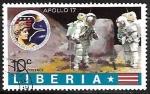 Sellos del Mundo : Africa : Liberia : Apollo 17