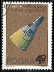 Sellos de Europa - Polonia -  Espacio Exterior - Gemini, American Spacecraft