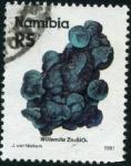 Sellos del Mundo : Africa : Namibia : Mineral