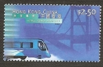Sellos de Asia - Hong Kong -  818