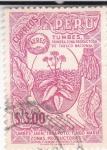 Sellos de America - Perú -  TABACO NACIONAL