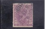 Sellos de Asia - India -  REY GEORGE V