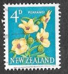 Sellos de Oceania - Nueva Zelanda -  386 - Puarangi