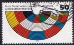 Sellos de Europa - Alemania -  primeras elecciones al parlamento europeo