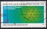 Sellos del Mundo : Europa : Alemania : Max von Laue, Premio Nobel Física