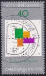 Sellos de Europa - Alemania -  Gauss, matemático