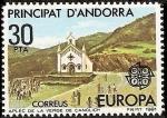 Sellos del Mundo : Europa : Andorra : Europa CEPT - Romería de la Virgen de Canolich