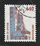 Sellos de Europa - Alemania -  1643 - Catedral de Speyer