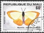Sellos del Mundo : Africa : Mali : mariposas