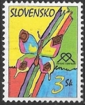 Sellos del Mundo : Europa : Eslovaquia : mariposas