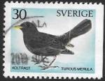 Sellos del Mundo : Europa : Suecia : fauna