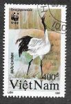 Sellos de Asia - Vietnam -  2245 - Grulla de Manchuria