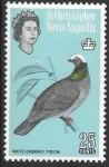 Sellos de America - San Cristóbal y Nevis -  aves