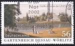 Sellos de Europa - Alemania -  jardines de Dessau_Wörlitz