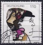 Sellos de Europa - Alemania -  Bertolt Brecht