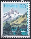 Sellos de Europa - Suiza -  lago Tanay