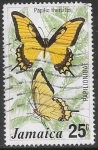 Sellos del Mundo : America : Jamaica : mariposas