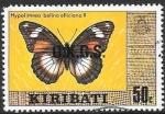 Sellos del Mundo : Oceania : Kiribati : mariposas