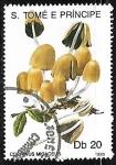 Sellos de Africa - Santo Tomé y Principe -  Setas - Coprinus micaceus