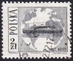 Sellos de Europa - Polonia -  Transatlántico MS Batory