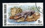 Sellos del Mundo : Africa : Togo : Animales en peligro de extición