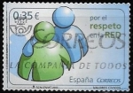 Sellos del Mundo : Europa : España :  valores cívicos