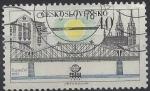 Sellos de Europa - Checoslovaquia -  1978 - Puentes de Praga, Puente del ferrrocarril