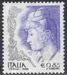 Sellos del Mundo : Europa : Italia : 2004 - Dones a l'art