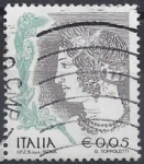 Sellos del Mundo : Europa : Italia : 2004 - Joven velca, tumba etrusca
