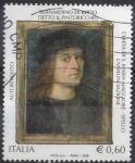 Sellos del Mundo : Europa : Italia : 2008 - Patrimoni Artístic- Bernardino Betto, pintor