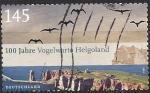 Sellos del Mundo : Europa : Alemania : 2010 - Centenario del Instituto Ornitologico de Helgoland