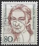 Sellos del Mundo : Europa : Alemania : 1986 - Clara Schumann