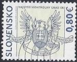 Sellos del Mundo : Europa : Eslovaquia : 2009 - Oficina Suprema de Auditoria de la República Eslovaca