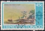 Sellos de America - Trinidad y Tobago -  Corbeaux Town